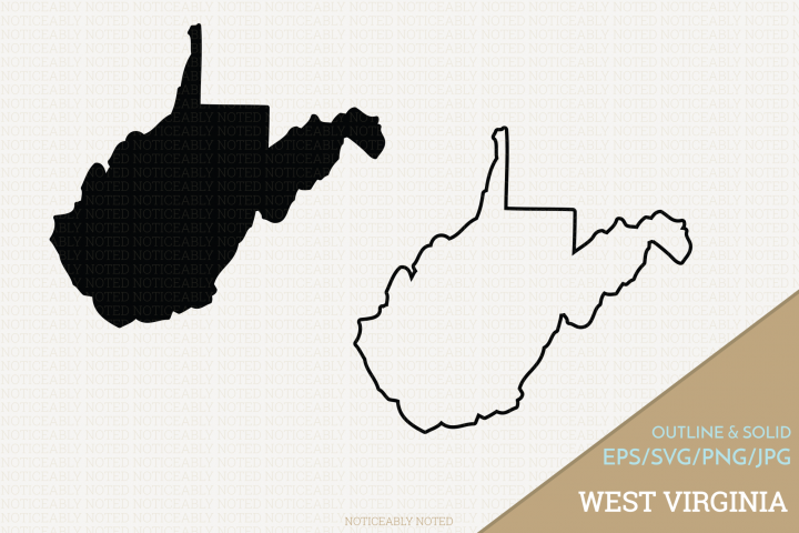 West Virginia Vector / Clip Art