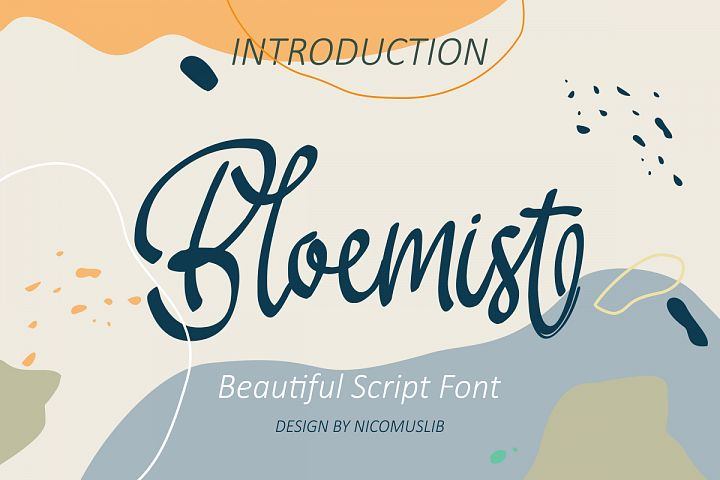 Bloemist Font