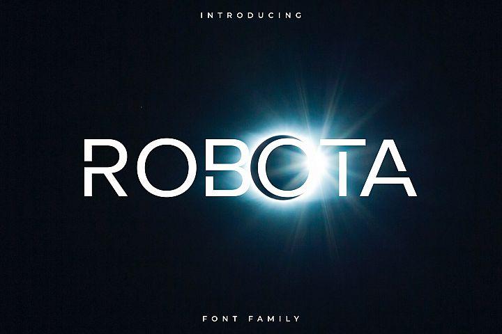 Robota Font Family - Sans Serif