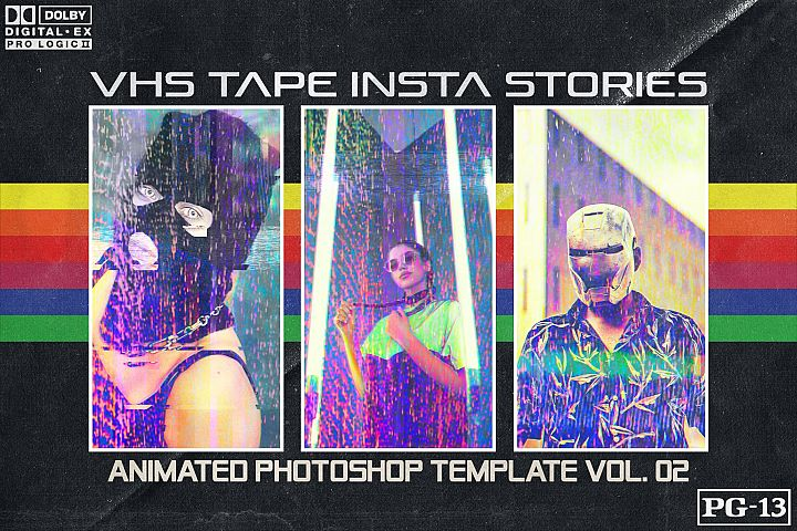 VHS TAPE 02 - Insta Stories Template