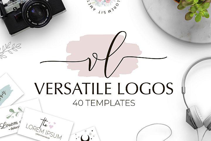 Versatile Logo Templates Pack