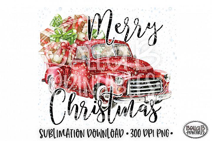 Christmas Sublimation Design, Merry Christmas Sublimation