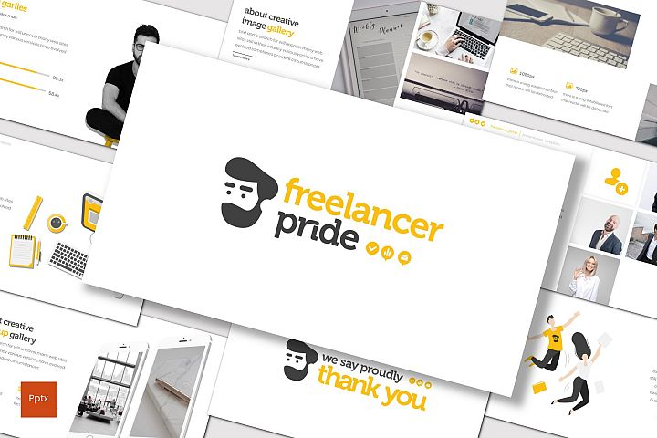 Freelancer Pride - Powerpoint Template