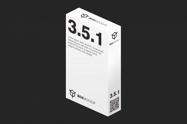 3.5.1 Flat Style 3D Isometry Mockup