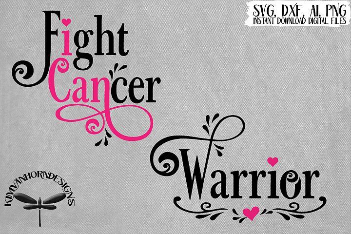 I Can Fight Cancer / Warrior / Cancer Support Bundle