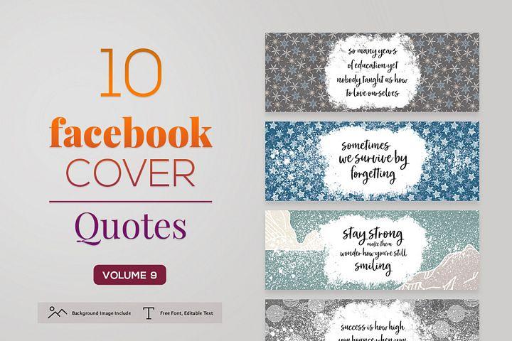 Facebook Cover Quotes Vol. 9