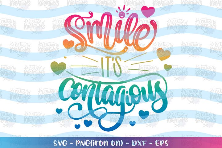 Faith Bible Motivatoinal svg Smile its contagious