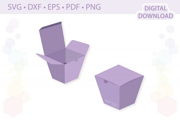 Favor Box Gift Box cut file