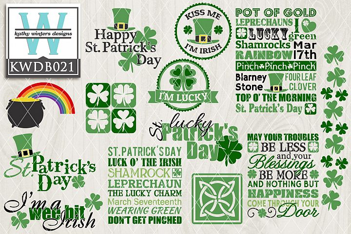 St. Patricks SVG - St. Patricks Bundle KWDB021