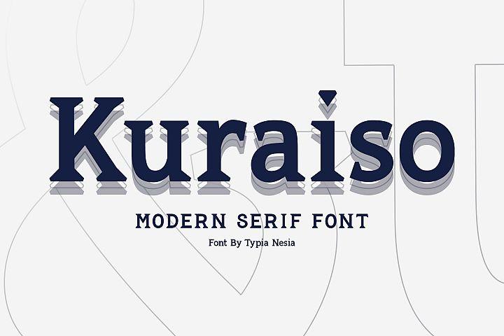 Kuraiso Serif