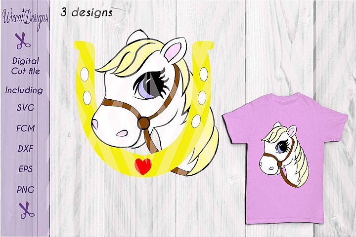Horse svg, pony, Horse shoe svg, girls, animals, cute pony, Horse face, horse shoe svg