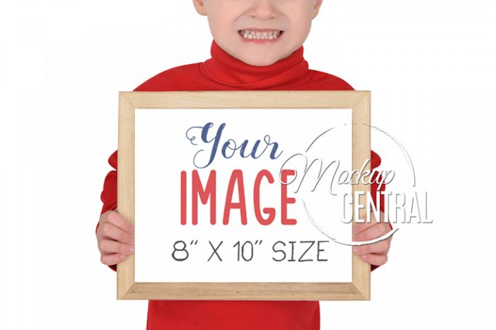 Childrens School Frame Sign Mock Up, JPG & PNG Mockup