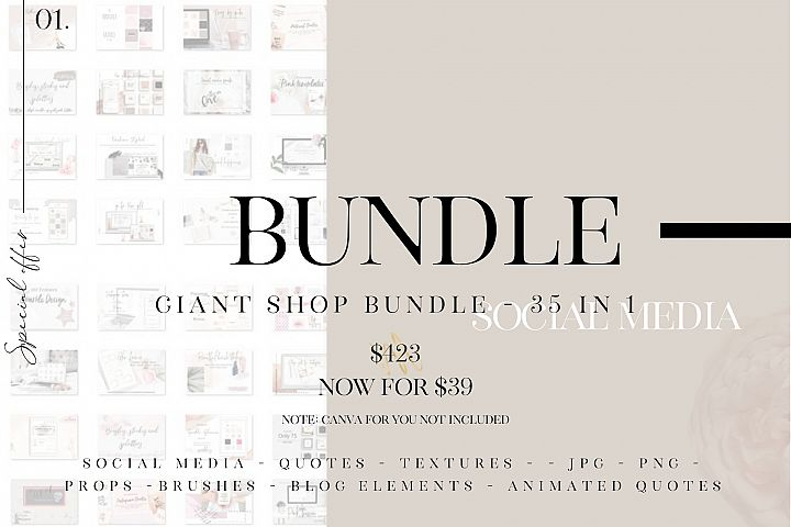 Giant shop bundle - 35 in 1