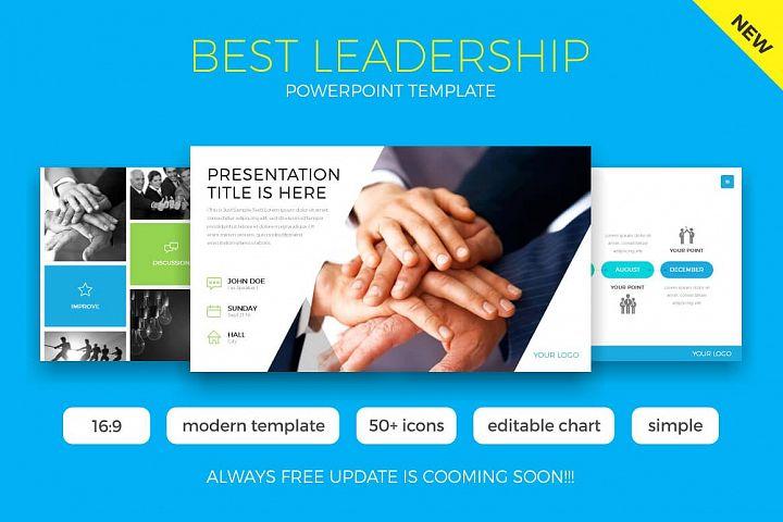 Best Leadership Powerpoint Template