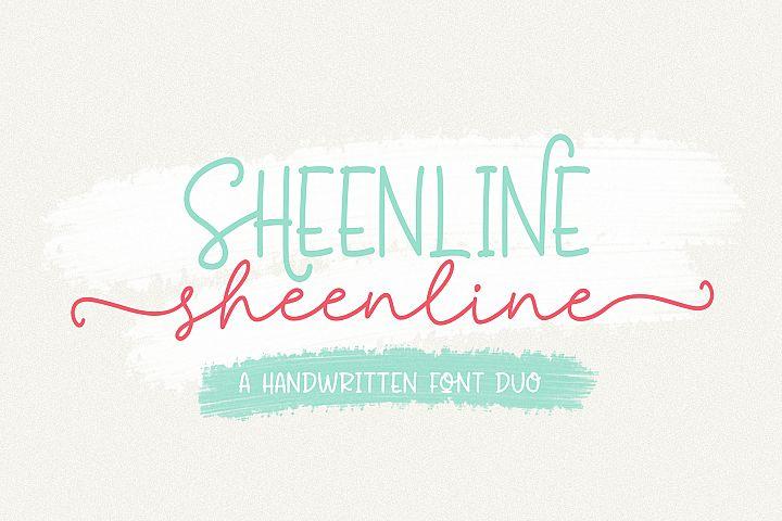 Sheenline Font Duo