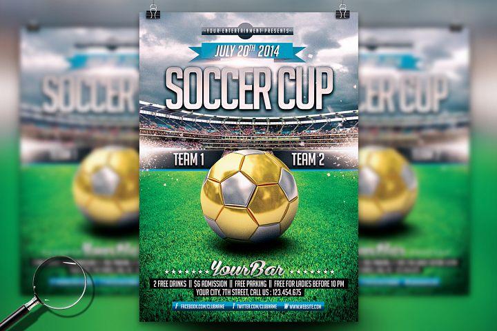 Soccer Cup | Modern Flyer Template
