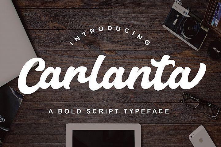 Carlanta Bold Script