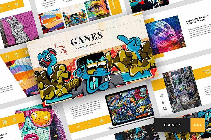 Ganes - Graffiti Google Slides Template