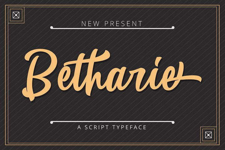 Betharie Typeface