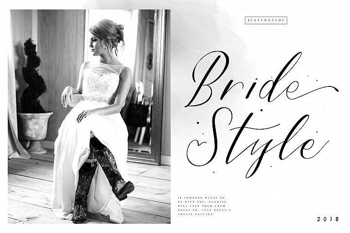 Bride Style - Modern Calligraphy
