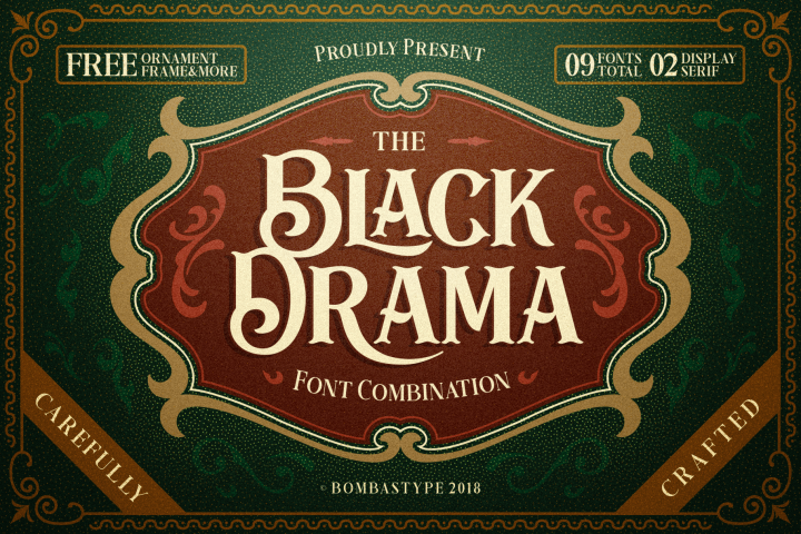 Black Drama Combination + Extras