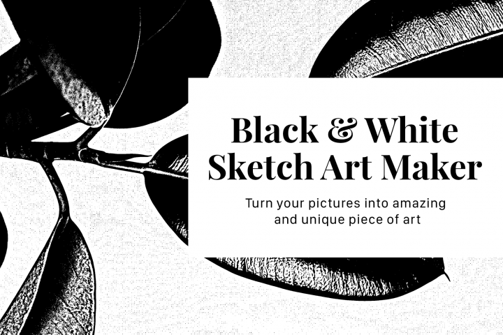 Black & White Sketch Art Maker