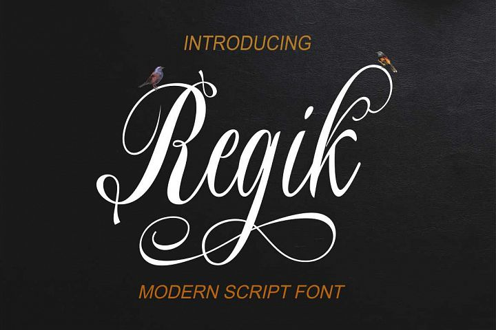 Regik Script