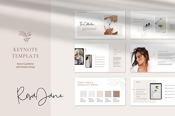Rosa Jane Keynote Template