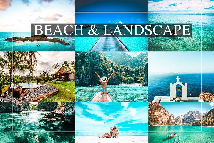 Beach&Landscape Presets Bundle