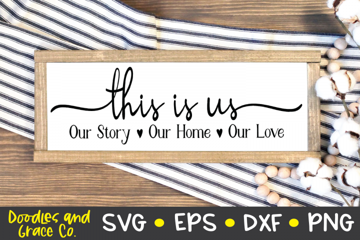 This is Us SVG - Family SVG