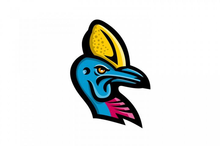 Cassowary Head Mascot