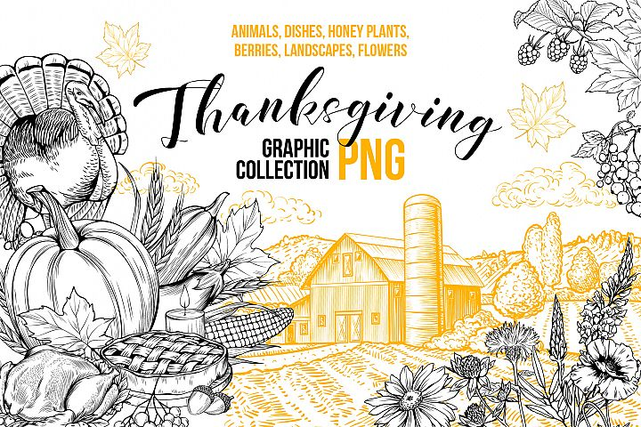 Thanksgiving Graphics Collection