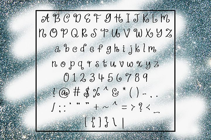 Wildly Extravagant - Curly Handwritten Font example 1