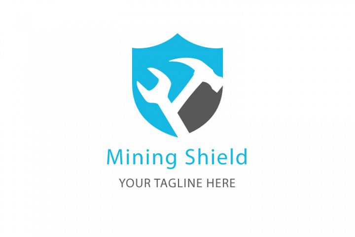 Mining Shield Logo