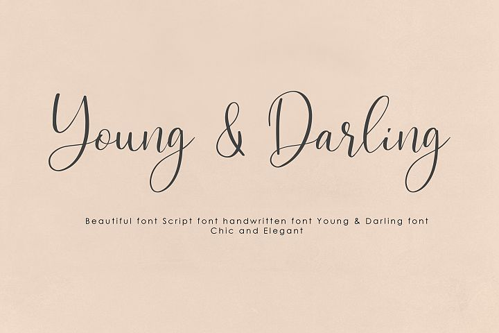 Young & Darling Font