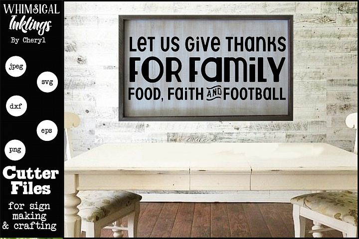 Let Us Give Thanks SVG