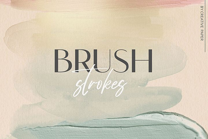 Brush Strokes - Watercolor Backgrounds