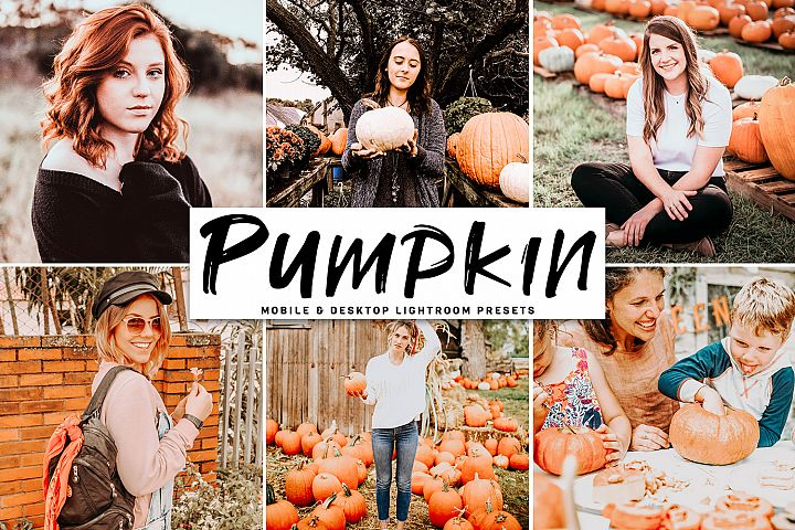 Pumpkin Mobile & Desktop Lightroom Presets