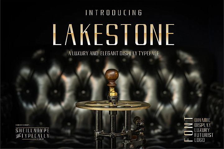 LAKERSTONE - A LUXURY AND ELEGANT CLEAN TYPEFACE