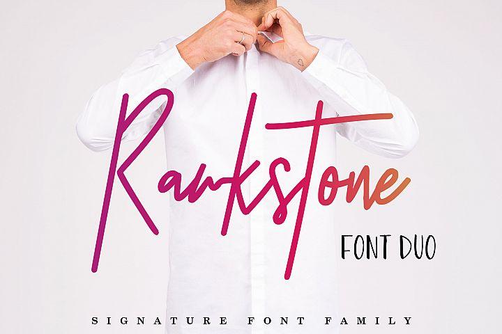 Rawkstone Font Duo