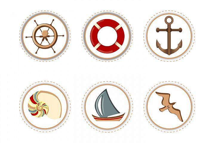 Marine Attributes - Stickers