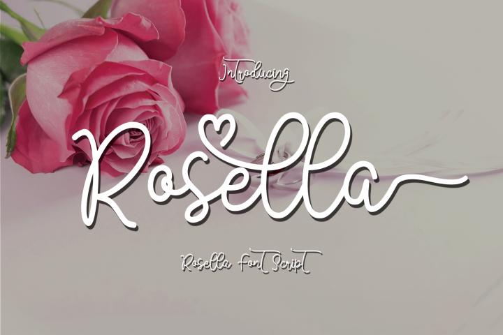 Rosella Script