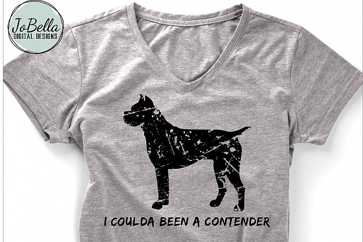 Funny Distressed Boxer SVG and Printable Dog Lover Design