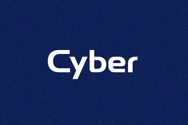 Cyber - Wordmark Font
