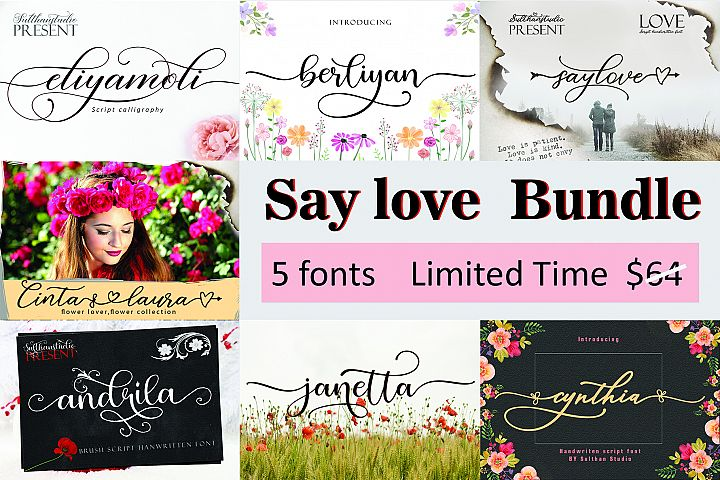 Say Love Bundle