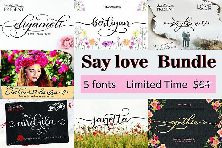 Say Love Bundle