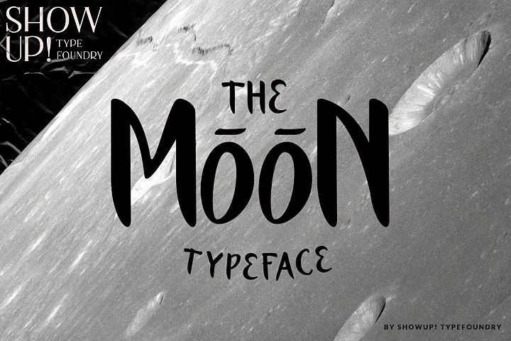 The Moon - Typeface Free