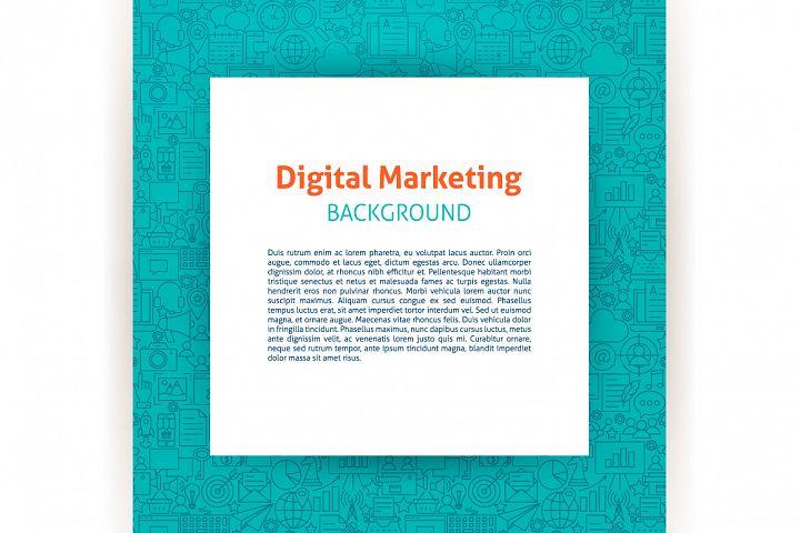 Marketing Line Tile Patterns example 2