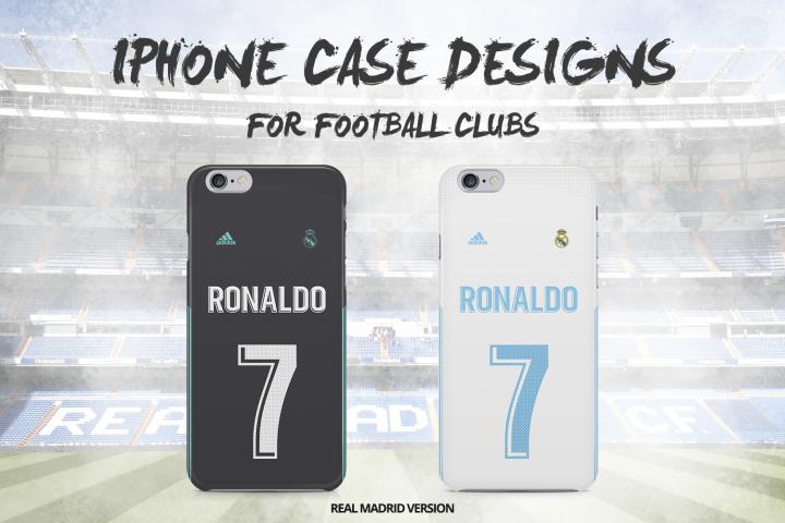 Real Madrid iPhone case design