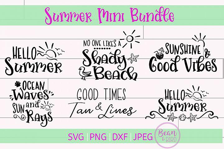Summer Mini Bundle Svgs